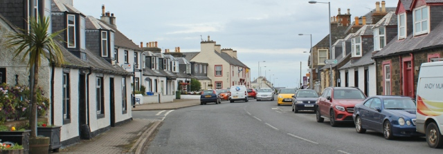 40 main street, Ballantrae, Ruth hiking the Ayrshire Coastal Path, Scotland