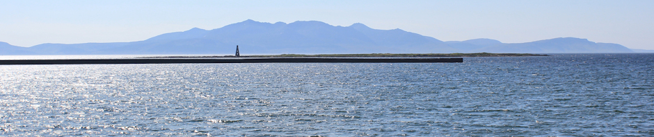 Isle of Arran from Ardrossan, Ruth Livingstone