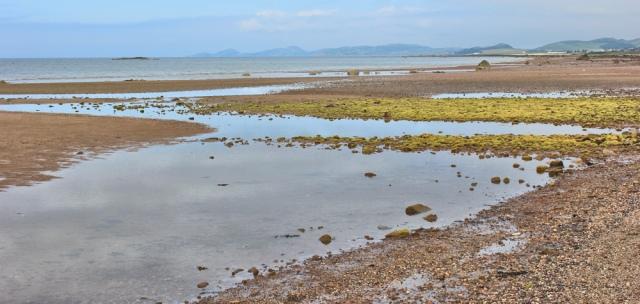 03 empty shore, Ardrossan, Ruth hiking the coast of Scotland