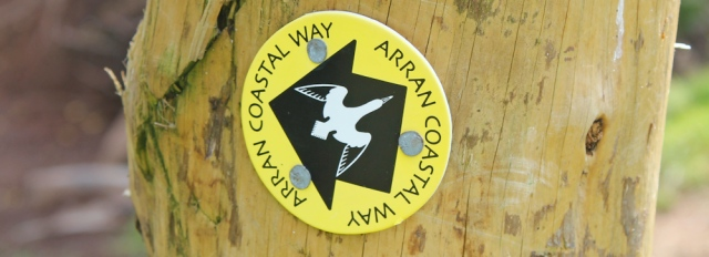 05 Arran Coastal Way logo, Ruth Livingstone