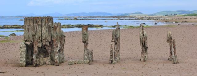 06 beach walking, Ruth's coastal hike, around Scotland