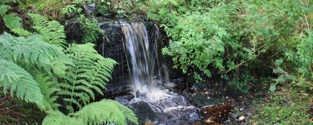 10 waterfalls, Lamlash Bay, Ruth hiking around the coast of the Isle of Arran