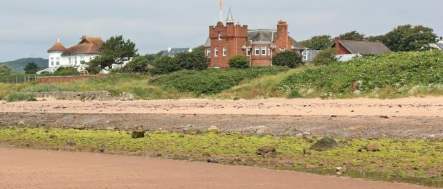 13 fake castles, West Kilbride, Ruth hiking the Scottish Coast