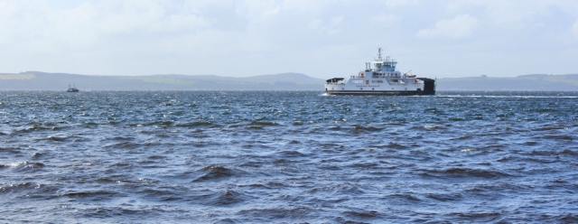 13 Ferry to Great Cumbrae Island, Ruth's coastal walk, Largs, Scotland