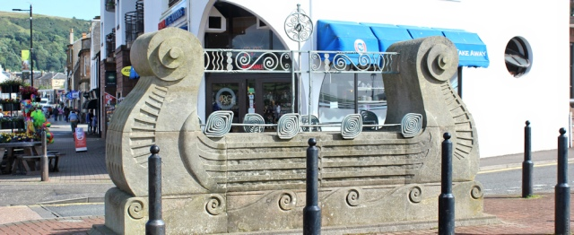 14 viking ship, Largs, Ruth Livingstone