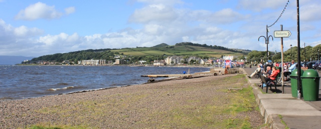 16 Largs Bay, Ruth walking the Ayrshire Coastal Path, Scotland