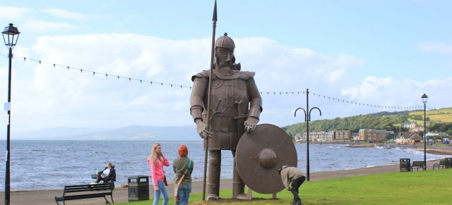 17 viking, Largs, Ruth Livingstone