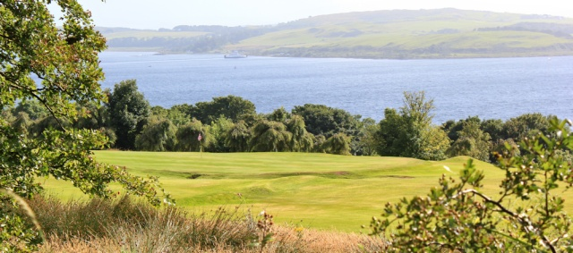 25 sea view, Ruth hiking to Skelmorie, Ayrshire