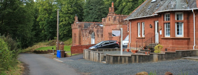 28 Knock lodge, Ruth's coastal walk to Skelmorlie, Ayrshire