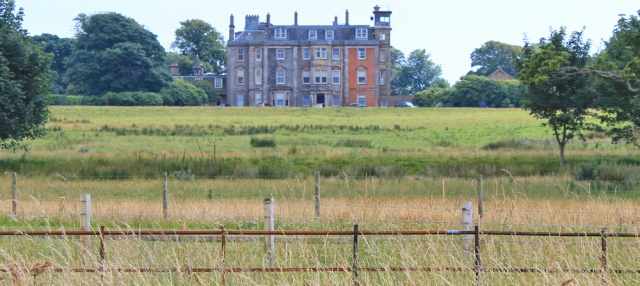 29 Hunterston House, Ruth hiking the Ayrshire Coastal Path, Scotland