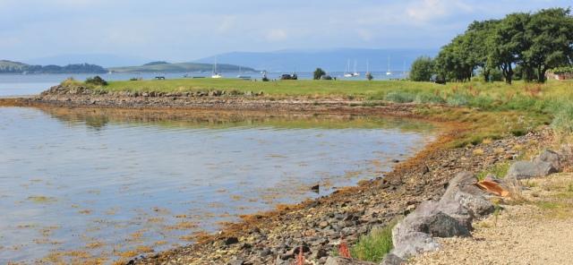 40 parkland, Fairlie, Ruth hiking the Ayrshire Coastal Path, Scotland