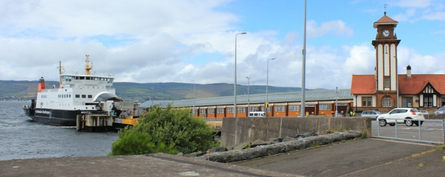 42 Ferry at Wemyss, Ruth Livingstone walking the coast of Scotland