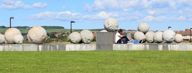 44 balls, Ardrossan Marina, Ruth Livingstone in Scotland