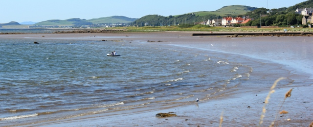 49 Ardrossan to Kirkbride, Ruth's coastal walk, Scotland