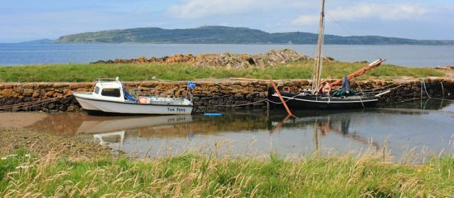 portencross harbour, Ruth's coastal walk, Ayrshire, Scotland