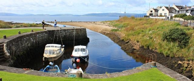 01 Blackwaterfoot, Ruth's coastal walk around the Isle of Arran