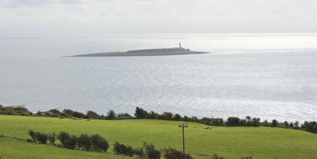 05 Pladda island, Ruth Livingstone on Arran, Scottish coast
