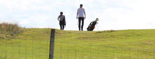 08 Shiskine Golf course, Ruth Livingstone on Arran