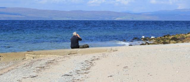16 picnic on beach, Ruth Livingstone, Arran