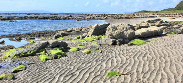21 beach walking on Arran, Ruth Livingstone