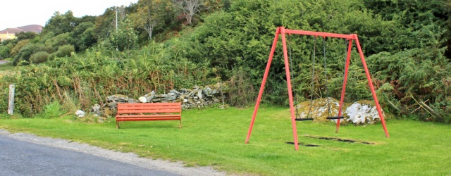 21 play area, Arran, Ruth's coastal walk