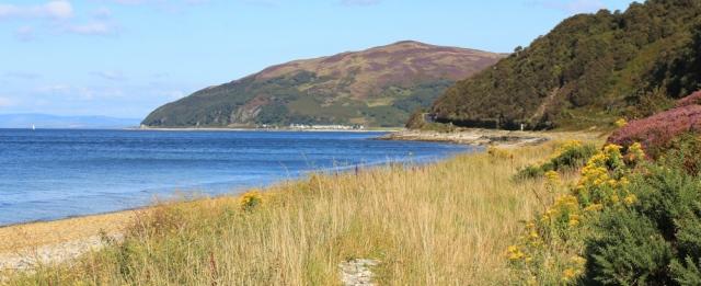 25 Catacol Bay, Ruth's coastal walk, Arran