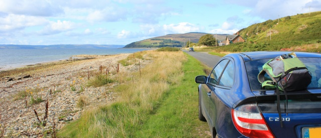 27 road from Machrie, Ruth's coastal walk, Arran