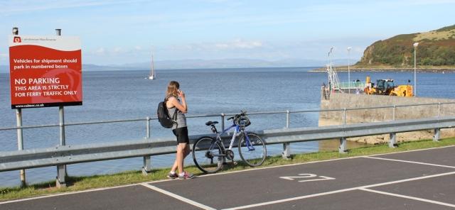 29 Ferry port, Lochranza, Ruth Livingstone