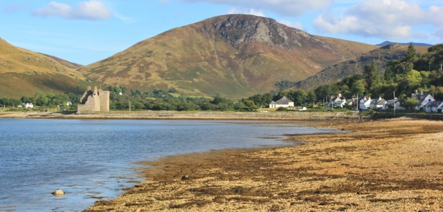 32 Lochranza castle, Ruth's coastal walk, Arran