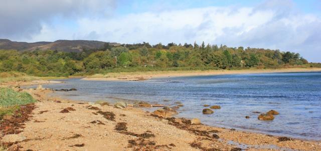 05 looking back at Sannox Bay, Ruth's coastal walk, Arran