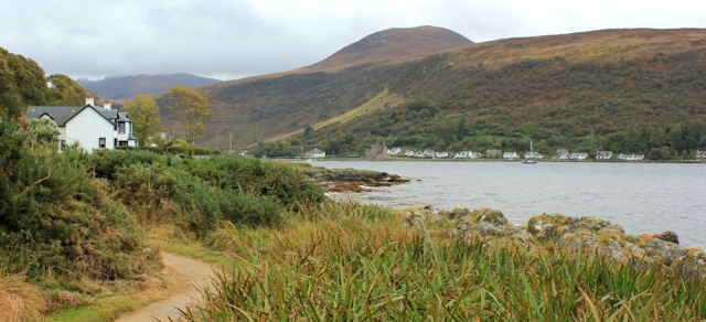 11 last look at Lochranza, Ruth Livingstone