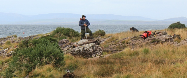 15 working on the Arran Coastal Way, Ruth Livingstone, Scotland
