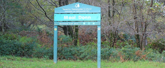 17 Maol Donn, Markland Trail, Ruth Livingstone on Arran