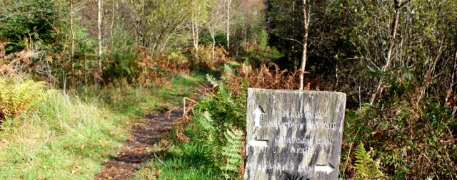 31 path to Hamilton Cemetary, Ruth's coastal walk, Brodick, Arran