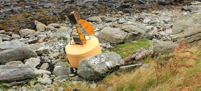34 washed up Buoy, Ruth Livingstone on Arran