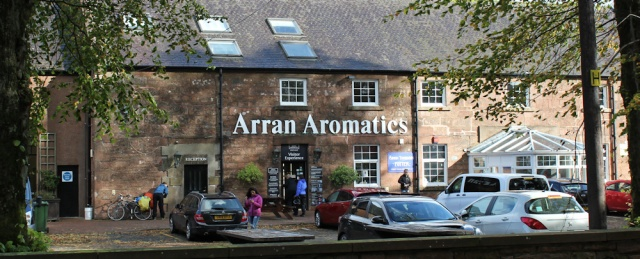 40 Arran Aromatics, Ruth Livingstone hiking to Brodick