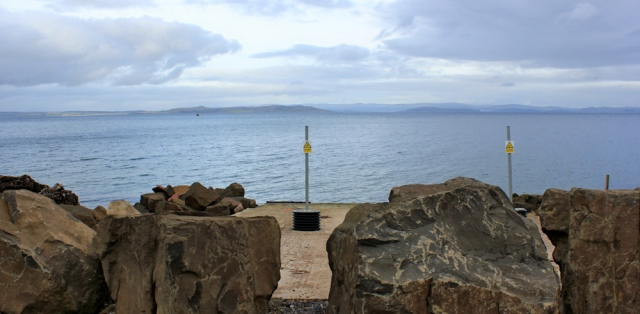 40 disused slipway, Ruth's coastal walk, Isle of Arran