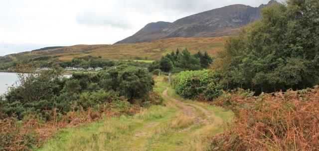 47 footpath to Sannox, Ruth Livingstone