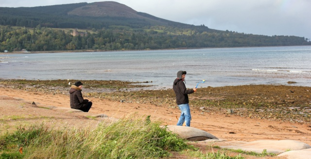 49 beach Brodick Bay, Ruth's coastal walk, Isle of Arran