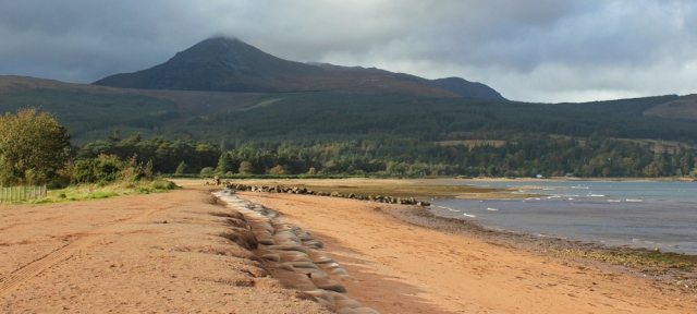 50 Goatfell, from Brodick Bay, Ruth's hiking on Arran