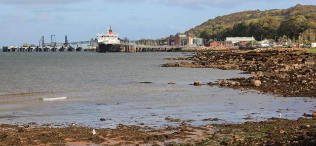 51 Brodick Ferry Port, Ruth Livingstone on the Isle of Arran