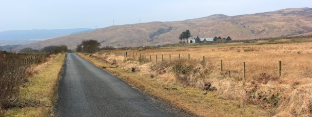 06 empty road, Ruth's coastal walk, Kintyre Peninsula