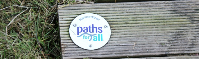 06 Paths for All, Ruth hiking around Tarbert, Kintyre