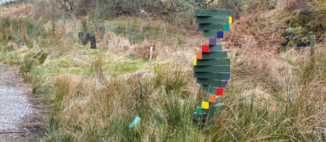 08 modern sculptures, Tarbert Castle, Ruth's coastal walk