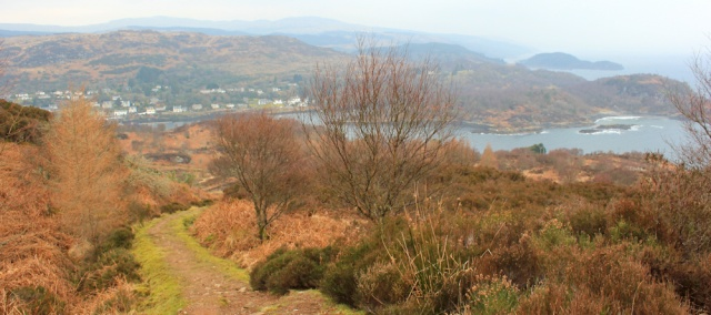 13 view down to Tarbert