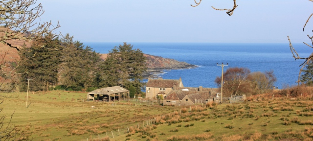 27 Cour farmhouse, Ruth's coastal walk to Carradale, Scotland