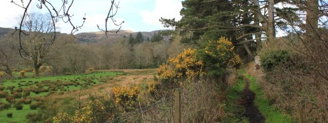 03 walking to Waterfoot, Ruth's coastal walk, Kintyre, Scotland