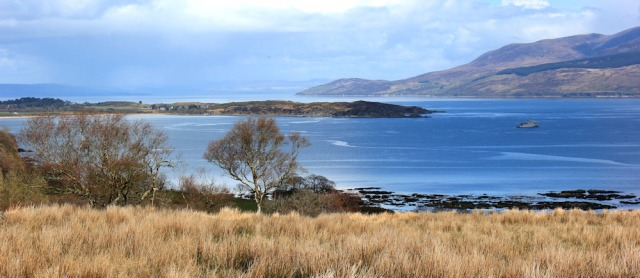 15 view back over Carradale, Ruth's coastal walk, Kintyre, Scotland