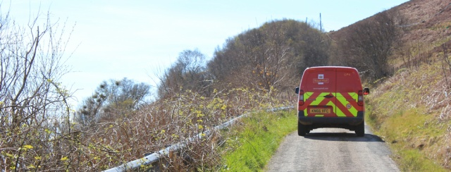 16 post office van, Mull of Kintyre, Ruth Livingstone