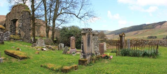 16 Saddell Abbey ruins, Ruth's coastal walk, Kintyre, Scotland